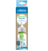Dr Brown's Option PLUS Narrow Neck Glass Bottle 250ml 1pk at Baby Barn Discounts Dr Brown's Options+™ bottle in pharmaceutical-grade borosilicate glass.