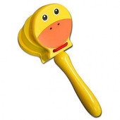 Fun Factory Animal Castanet With Handle at Baby Barn Discounts Encourage musical rhythm and develop a sense of beat when you play with these sweet wooden animal castanet/ clappers from Fun Factory.