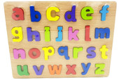 Lucky Tree- Wooden Puzzle- Lowercase Alphabet at Baby Barn Discounts A colourful wooden puzzle featuring the alphabet in lowercase. The perfect size for little fingers to grasp and manipulate.