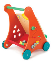 Tender Leaf Toys Baby Activity Wooden Walker at Baby Barn Discounts An exciting and interactive activity trolley to improve fine motor skills.