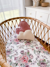 Snuggly Jacks Bassinet Sheet / Change Mat Cover | Baby Barn Discounts Snuggly Jacks change mat covers are made from 95% cotton 5% elastane fabric making them easy to wash and crease free.