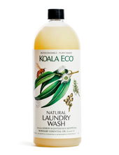 Koala Eco Natural Laundry Wash 1L at Baby Barn Discounts Koala Eco Lemon Scented Eucalyptus & Rosemary Laundry Liquid combines two of nature's best antibacterials in one powerful, aromatic formula.