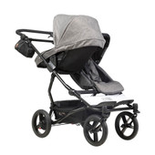 Mountain Buggy Carrycot Plus for Duet Herringbone | Baby Barn Discounts Mountain Buggy carrycot plus compatible for the Duet double pram.