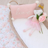 Lolli Living Character Knit Cushion Meadow at Baby Barn Discounts Add the perfect finishing touch with Lolli Living super sweet 'Love' embroidered decorative cushion.