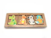 Koala Dream Aussie Bunch Magnetic Australian Animal at Baby Barn Discounts There are four Aussie animals per set. Each animal is in three pieces joined together by a magnet.