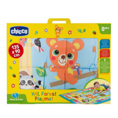 Chicco Toy XXL Forest Playmat 135 x 90 cm at Baby Barn Discounts A soft and colourful extra-large play mat from Chicco measured at 135 x 90 cm of space for your little one to play on.