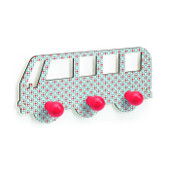 Djeco Bus Wooden Coat Hook at Baby Barn Discounts Keep coats, hats and scarves tidy with this cool Djeco children's bus coat hook.