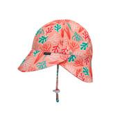Bedhead Beach Legionnaire Flap Hat - Coral