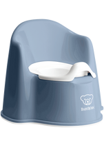 Baby Bjorn Potty Chair DEEP BLUE at Baby Barn Discounts Baby Bjorn potty chair is designed with high backrest and comfortable armrests.