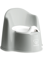 Baby Bjorn Potty Chair GREY at Baby Barn Discounts Baby Bjorn potty chair is designed with high backrest and comfortable armrests.