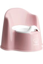 Baby Bjorn Potty Chair POWDER PINK at Baby Barn Discounts Baby Bjorn potty chair is designed with high backrest and comfortable armrests.