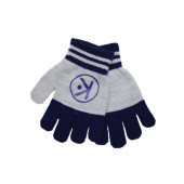 Korango Essential Gloves Navy/Grey at Baby Barn Discounts Soft and cosy to keep little fingers warm. These gloves by Korango are the perfect winter accessory for your little one.