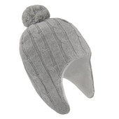 Living Textiles Cable Knit Sherpa Beanie 0-6 Months at Baby Barn Discounts Keep baby's head toasty warm with this super cure cable knit pompom beanie.