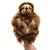 Korimco Wildlife Body Puppet 32cm SLOTH at Baby Barn Discounts Soft full body wildlife animal hand puppet fits both adults and children's hands.