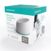 Nanobebe Smart Warming Bowl Teal at Baby Barn Discounts Nanobébé's Smart Warming Bowl is the fastest warming system on the market and is the optimal warming product for breastmilk.