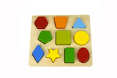 Koala Dream 10pcs Shape Puzzle at Baby Barn Discounts Great puzzle from Koala Dream to use to teach your child shapes and colours.