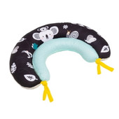 TAF Toys 2 in 1 Tummy Time Pillow - A unique ergonomic design of two pillows for 2 developmental stages that supports baby's chest for extended tummy time practice.