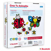 Scotchi Create An Animal Activity Game at Baby Barn Discounts Scotchi creative multi layer assembly game perfect for toddler's developmental health.