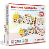 Scotchi Numbers Caterpillar at Baby Barn Discounts Encourage a love of mathematics with the Numbers Caterpillar by Scotchi. Learn to match numbers and quantities with this fantastic game.