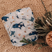 My Little Gumnut Modern Cloth Nappy at Baby Barn Discounts Australian owned and designed modern bamboo cloth reusable nappies.