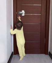 Dreambaby Adhesive Lever Door Lock 1pk at Baby Barn Discounts