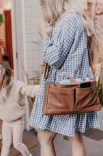OiOi Faux Leather Stroller Organiser at Baby Barn Discounts