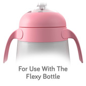 Nanobebe Flexy Silicone Bottle Handles 2pk at Baby Barn Discounts Designed with little hands in mind, the Flexy Silicone Bottle Handles are ideal for bubs transitioning from bottle to cup.