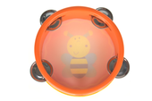 Kaper Kidz Tambourine at Baby Barn Discounts Designed for little hands, this tambourine is easy to use and wonderful for learning the foundations of music. Fantastic for children who love making music.