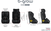 Britax Safe-N-Sound B-GROW Clicktight TEX Car Seat grows with your child
