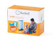 Korbell 16 Litre Refill 3 Pack at Baby Barn Discounts Compatible with the Korbell Nappy disposal system the standard liner refill should last for up to 495 nappies at a time.