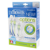 Dr Brown's Options+ Narrow Neck Starter Kit at Baby Barn Discounts Dr. Brown's Options is the market's first convertible bottle that can be used with or without the vent system