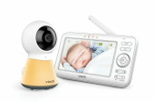 VTech Video & Audio Monitor BM5200 at Baby Barn Discounts With full colour display screen, secure and clear connection, and the ability to connect up to a total of four cameras. A Night light as well as 9 soothing sounds with 9 different volume levels will help baby sleep.