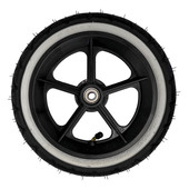 Phil&Teds Wheel- Complete Rear Wheel fits Navigator, Sport,Classic, Hammerhead and Explorer
