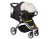 Britax Agile Click & Go Receiver Adaptor - Click your Britax Unity capsule onto your Steelcraft Agile pram