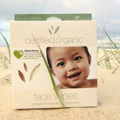 Nature's Child Organic Cotton Face Wipes 2 Pack