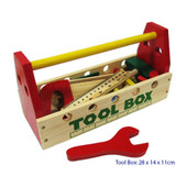 Fun Factory Tool Box with Wooden Tools