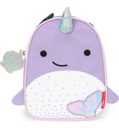 Skip Hop Zoo Lunchie Insulated Kids Lunch Bag - NARWHAL