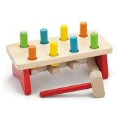 Viga Wooden Toy Pound a Peg