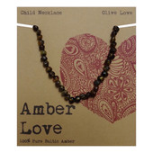 Amber Love 100% Pure Genuine Baltic Amber Necklace