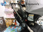 Baby Jogger Single Stroller City Mini, Mini GT, Elite Adaptor - Maxi Cosi Capsule - The Single Stroller Capsule Adapters are the easiest way to turn your stroller into a customised travel system.