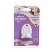 Dreambaby Adhesive Mag Lock Key Single Pack