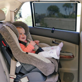Dreambaby 2 Pack Adjustable Extra Wide Window Sun Shades