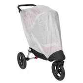 Baby Jogger City Elite Single Bug Canopy is made out of a finely woven mesh and completely encloses the front and sides of the stroller while providing ventilation.