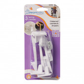 Dreambaby Spring Latches 3 pk (F110)