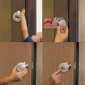 Dreambaby EZY-Fit Door Knob Cover 3 Pack