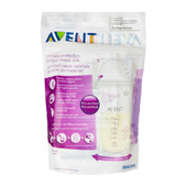 Avent 180ml Breast Milk Storage Bags 25 Pack