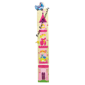 Wooden Growth Chart -- Princess