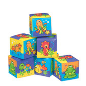 Playgro Under the Sea Soft Blocks