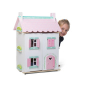 Kaleidoscope Wooden Doll House Sweetheart Cottage
