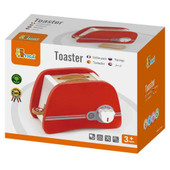 Viga Red Wooden Toaster